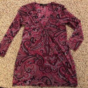 Alex Marie large women's long sleeved shirt.